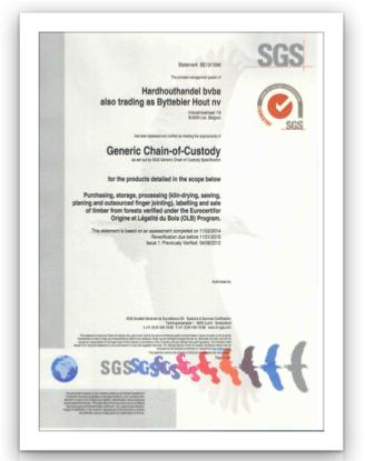 OLB Certificaat